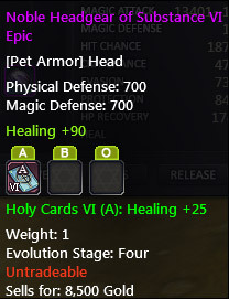 Battle Pet Equipment Tooltip