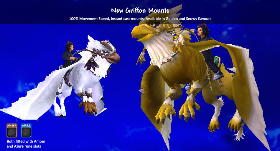 New Griffon Mounts