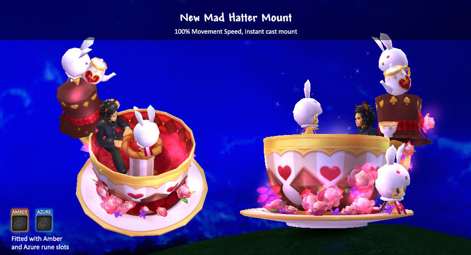 Mad Hatter Mount