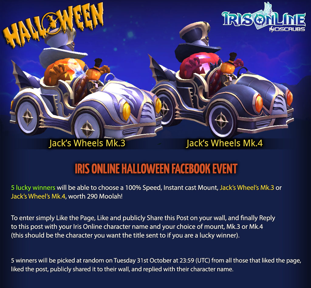 Halloween Facebook Event