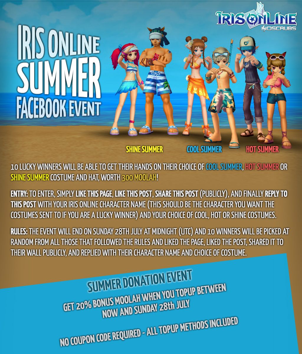 Summer Facebook Event